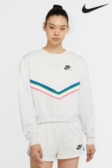 Nike Heritage Grey Crew