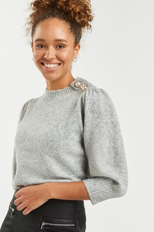 Short Volume Sleeve Jumper