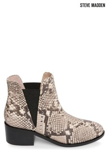 Steve Madden Animal Cade Slip-On Boots