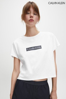 Calvin Klein White Branded Box T-Shirt