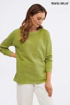 White Stuff Green Avenue Organic Cotton Jumper