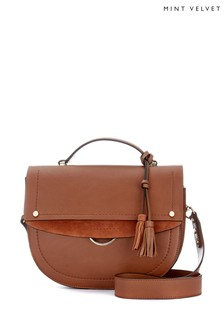 Mint Velvet Bailey Chestnut Shoulder Bag