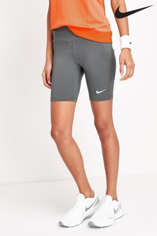 "Nike Grey Fast 7"" Run Shorts"