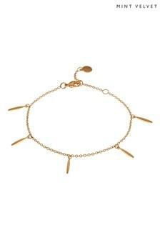 Mint Velvet Gold Plated Dagger Bracelet