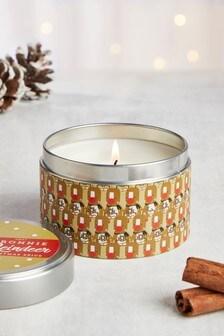Warm Cinnamon Tin Candle