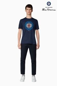Ben Sherman Navy Art T-Shirt