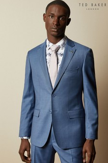 Ted Baker Hectorj Modern Fit Debonair Sharkskin Suit Jacket