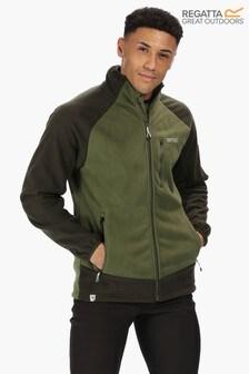 Regatta Green Sheltor Showerproof Fleece