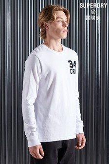 Superdry Mono Urban Long Sleeve Top