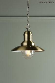 Brass Corbridge Fisherman Ceiling Light