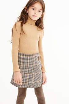 Knitted Roll Neck Top (3-16yrs)