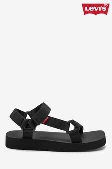 Levi's® Black Cadys Sandals