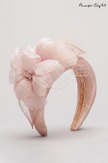 Phase Eight Pink Lottie Flower Headband