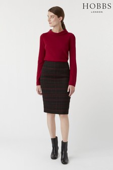 Hobbs Black Mila Skirt