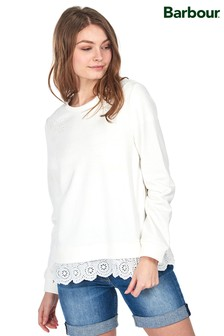 Barbour® Coastal Off White Double Layer Filey Sweatshirt