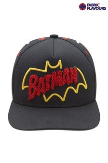 Fabric Flavours Black Batman® Logo Cap