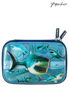 Paperchase Shark Hard Cover Pencil Case