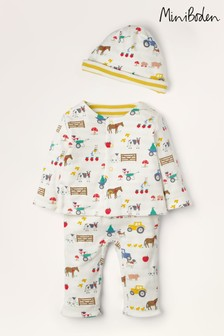 Boden Ivory Supersoft Reversible Play Set