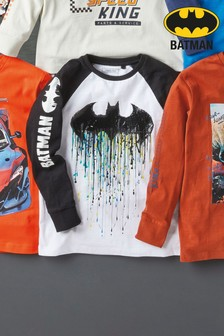 Long Sleeved Batman® T-Shirt (3-14yrs)