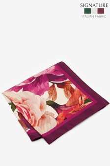 Signature Floral 'Made in Italy' Pocket Square