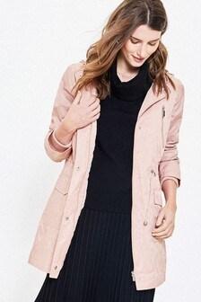 Oasis Pink Premium Hooded Raincoat