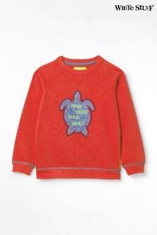 White Stuff Kids Timmy Turtle Jersey Sweater