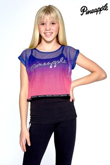 Pineapple Ombre Double Layer T-Shirt Set