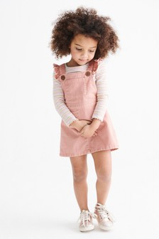 Sukienka bez rękawów, z falbanką (3m-cy-7lata)