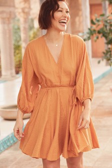 Emma Willis Godet Dress