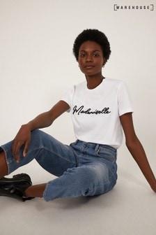 Warehouse White Mademoiselle T-Shirt