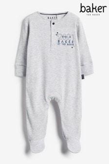 Baker by Ted Baker Baby Boy Born in 2021 Sleepsuit