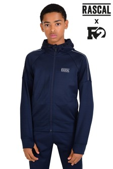 Rascal F2 Blue Acronim Full Zip Hoody