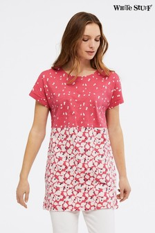 White Stuff Pink Bay Jersey Tunic