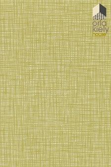 Orla Kiely Green Scribble Wallpaper