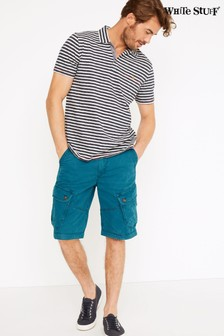 White Stuff Teal Harbour Organic Cargo Shorts