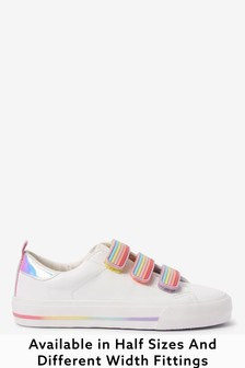 Rainbow Touch Fastening Trainers (Older)