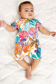 Single Printed T-Shirt Romper (0mths-3yrs)