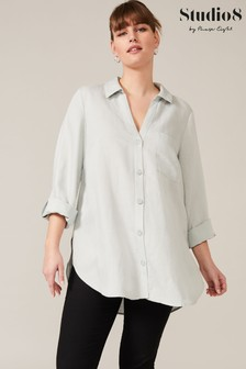 Studio 8 Green Nico Linen Shirt