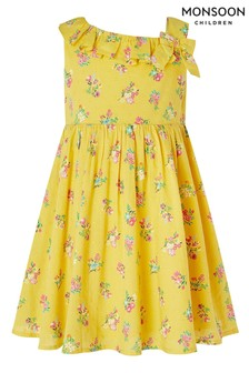 Monsoon Yellow S.E.W. Baby Grace Dress
