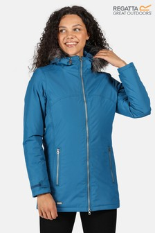 Regatta Blue Myla Waterproof Jacket