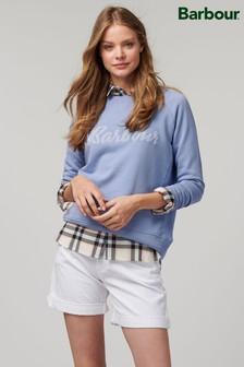 Barbour® Coastal Soft Blue Otterburn Logo Sweatshirt