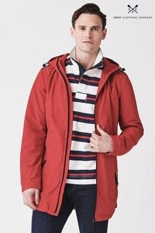 Crew Clothing Red Swindale Jacket