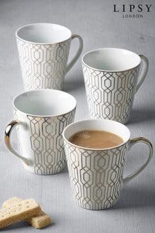 Set of 4 Lipsy Mugs