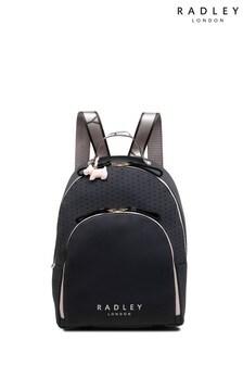 Radley Grey Crofters Way Large Zip Around Backpack