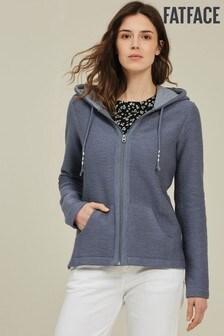 FatFace Hemsby Zip Sweater