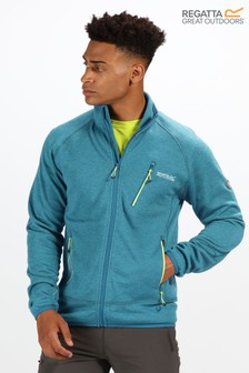Regatta Blue Harva Full Zip Fleece Jacket