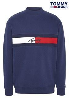 Tommy Jeans Jacquard Flag Sweatshirt