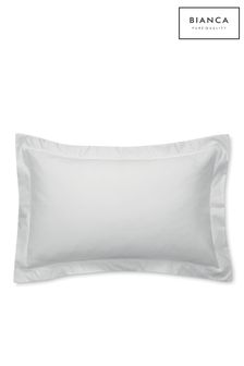 Luxury 800 Thread Count Cotton Sateen Oxford Pillowcase by Bianca
