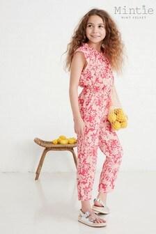 Mintie by Mint Velvet Pink Millie Print Jumpsuit
