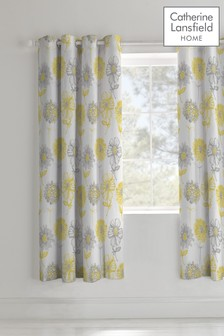 Banbury Floral Eyelet Curtains by Catherine Lansfield